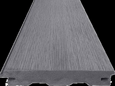 Terasový profil Woodplastic TOP RUSTIC v barvě inox