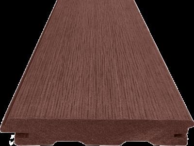 Terasový profil Woodplastic TOP RUSTIC v barvě palisander