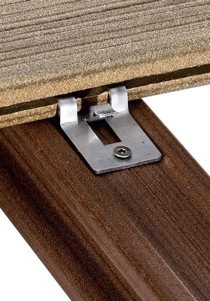 standardní klip woodplastic